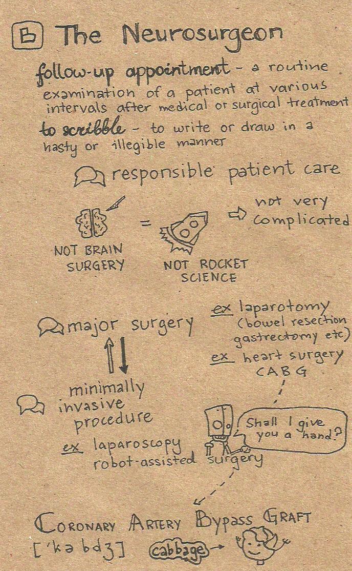 neurosurgeon notes